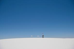 ホワイトサンズの写真素材 [FYI01790440]