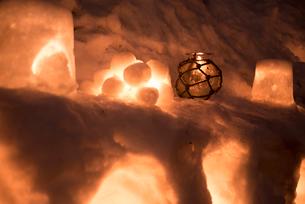 2015小樽雪あかりの路の写真素材 [FYI01790498]