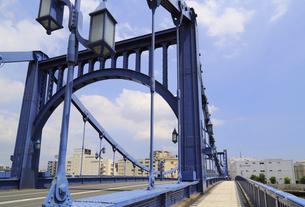 清洲橋の写真素材 [FYI01790526]