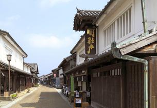 旧東海道関宿の町並みの写真素材 [FYI01790528]