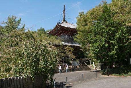 8番熊谷寺多宝塔の写真素材 [FYI01790535]