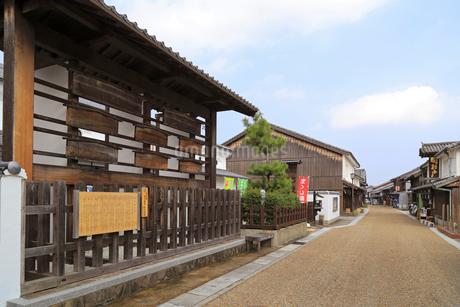 旧東海道関宿の高札場の写真素材 [FYI01790560]