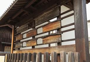 旧東海道関宿の高札場の写真素材 [FYI01790561]