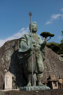 76番金倉寺修行大師像の写真素材 [FYI01790578]