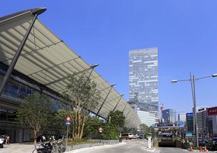 東京駅八重洲口の写真素材 [FYI01790587]