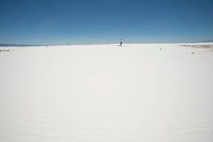 ホワイトサンズの写真素材 [FYI01790602]