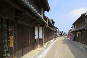 東海道五十三次関宿の町並みの写真素材 [FYI01790623]