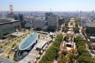名古屋中心部の街並の写真素材 [FYI01790643]