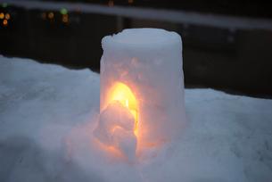 2015小樽雪あかりの路の写真素材 [FYI01790650]