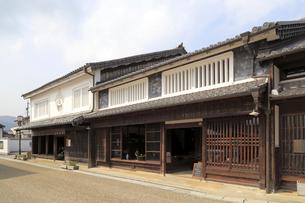 旧東海道関宿の町並みの写真素材 [FYI01790698]