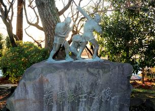 薩摩義士の像の写真素材 [FYI01790778]