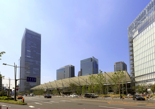 東京駅八重洲口の写真素材 [FYI01790810]