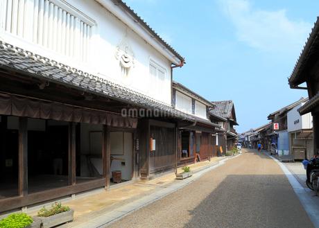 旧東海道関宿の家並みの写真素材 [FYI01790883]