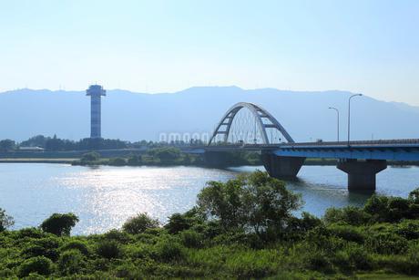木曽三川の風景の写真素材 [FYI01790907]