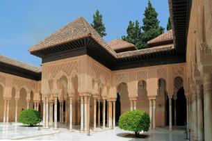 ナスル朝宮殿の写真素材 [FYI01791021]