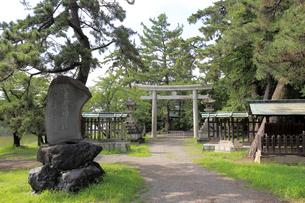 治水神社の写真素材 [FYI01791028]