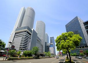 名古屋駅周辺の高層ビル群の写真素材 [FYI01791043]