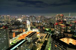 東京の夜景の写真素材 [FYI01791064]