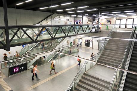 サグラダ・ファミリア地下鉄駅の写真素材 [FYI01791161]