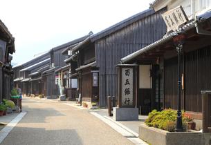 旧東海道関宿の町並みの写真素材 [FYI01791180]
