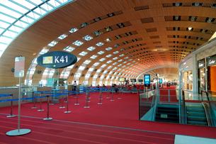 シャルル・ド・ゴール空港の写真素材 [FYI01791216]