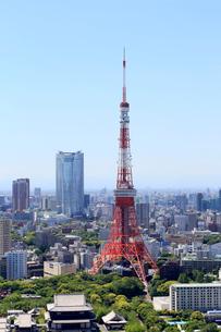 東京タワーの写真素材 [FYI01791253]