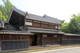 旧太田脇本陣林家住宅の写真素材 [FYI01791297]