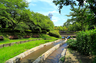 木曽三川公園センターの写真素材 [FYI01791355]