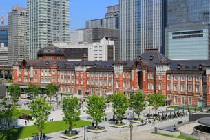 東京駅丸の内駅前広場の写真素材 [FYI01791364]