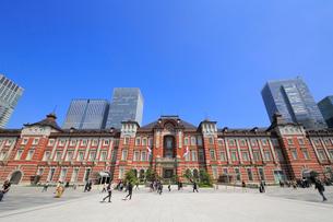 東京駅赤レンガ駅舎の写真素材 [FYI01791373]