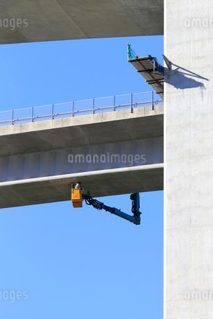 高架橋工事の写真素材 [FYI01791391]