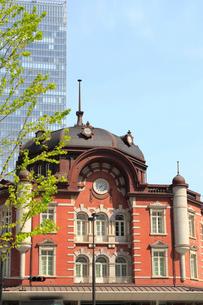 東京駅赤レンガ駅舎の写真素材 [FYI01791393]