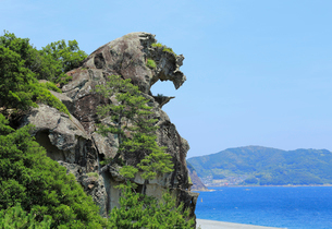 獅子岩の写真素材 [FYI01791406]