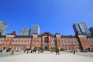 東京駅赤レンガ駅舎の写真素材 [FYI01791412]