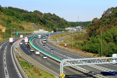 東名阪自動車道の写真素材 [FYI01791424]
