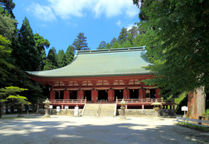比叡山延暦寺釈迦堂の写真素材 [FYI01791431]