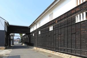 旧中山道太田宿の造り酒屋の写真素材 [FYI01791483]