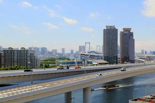 首都高速道路11号台場線の写真素材 [FYI01791488]