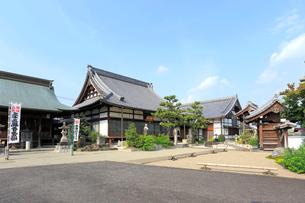 旧中山道太田宿祐泉寺の写真素材 [FYI01791495]