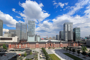 東京駅赤レンガ駅舎の写真素材 [FYI01791512]