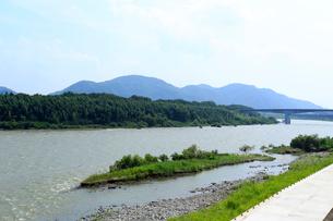 木曽川の写真素材 [FYI01791525]