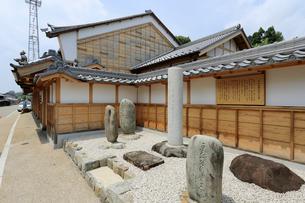松尾芭蕉句碑の写真素材 [FYI01791528]