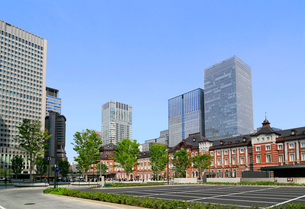 東京駅赤レンガ駅舎の写真素材 [FYI01791554]