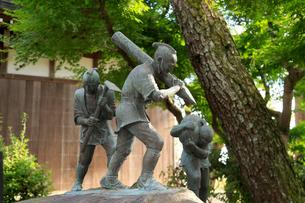 薩摩義士の像の写真素材 [FYI01791583]