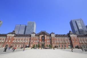 東京駅赤レンガ駅舎の写真素材 [FYI01791602]