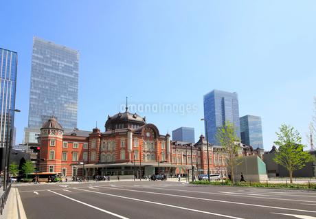 東京駅丸の内駅舎の写真素材 [FYI01791615]