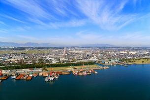 うみてらす14から見る四日市市北部の景観の写真素材 [FYI01791631]