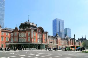 東京駅丸の内駅舎の写真素材 [FYI01791662]