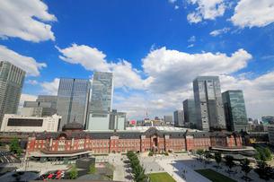 東京駅赤レンガ駅舎の写真素材 [FYI01791738]