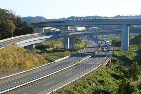 東名阪自動車道亀山JCTの写真素材 [FYI01791745]